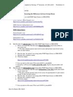 Worksheet 12