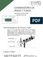 Intercambiadores de Coraza y Tubos