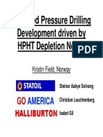 Managed Pressure Drilling Statoil