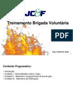 Treinamento Brigada Voluntária Rural