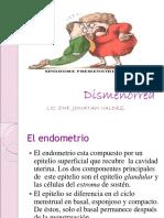 Dismenorrea y Sx Premenstrual