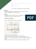 26-Prática de Física-lei de Ohm- Velocidade de Arraste