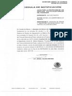 Impugna Rafael Micalco ante TEPJF su inhabilitación por tres años