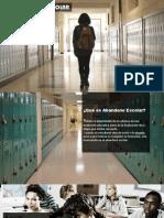 Presentacion de Abandono Escolar