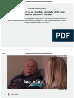 La TV Vasca Muestra a Un Exprófugo Vinculado a ETA Como Ejemplo de Pensionista Precario