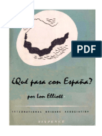¿Qué pasa con España? / What about Spain?, by Lon Elliott