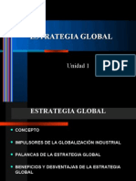 Unidad I Estrategia Global