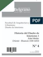 Altamiranda - Historia Del Diseño 1 - Edad Media - Bizancio