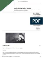 A 80 Años Del Asesinato de León Sedov