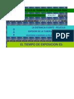 Calcule Tiempos de Exposicion Diferentes Diametros y Cedulas