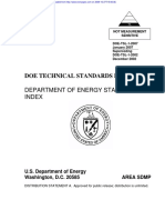Technical Standards List Depart Os Energy