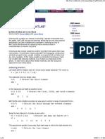 Matrix Indexing in Mat Lab