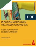 Anclajes Quimicos (Teoria Aplicacion Normativa Software) 2016