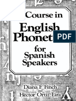 Finch a Course in English Phonetics for Spanish Speakers_206p