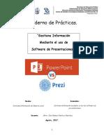 Cuadernillo de Gestiona Informacion Mediante El Uso de Software de Presentaciones