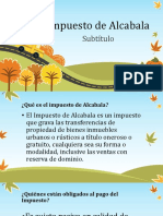 Impuesto a La Alcabala