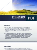 Canon Minero