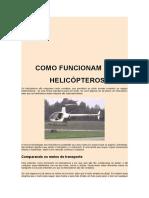 Como Funcionam Os Helicópteros