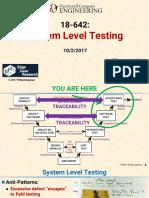 System Level Testing