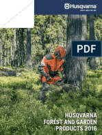 Husqvarna Products Catalog 2016