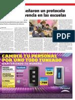 Diario El Sol- Informa sobre resultados de estudios de Humanistas de Mendoza