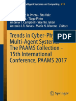 Trends in Cyber-physical Multi-Agent Systems. the Paams Collection - 15th International Conference Paams 2017