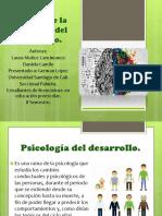 Historia de La Psicología Del Desarrollo Sabado
