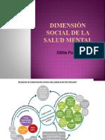 Dimensiòn Social de La Salud Mental