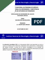 VALORACIÓN NEUROLOGICA