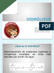 HIDRÓLISIS