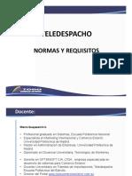 NORMAS-TELEDESPACHO