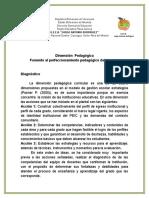 Fomento Al Perfeccionamiento Pedagógico de Los Docentes.
