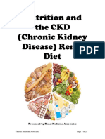Nutrition and the CKD Diet