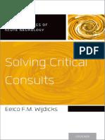 #EM-Solving Critical Consults - Widjicks 2016