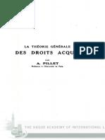 A Pillet_La Theorie Generale Des Droit Acquis