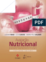 Livro-Avaliação Nutricional Novas Perspectivas-luciana Rossi