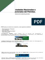 1.3 Principales Sociedades Nacionales y Extranjeras