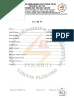 THERM OF REFERENCE PEKAN KREATIFITAS MAHASISWA TEKNIK LISTRIK POLMED