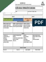 Planificación Formación Ciudadana Primer Sem 2018 Ciclo Inicial