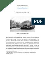 Brady Pérez Arango - Praga 1968 - Ejercicio Final de Historia Contemporánea