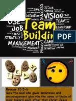 Team Building Session 2