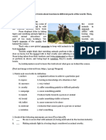Eco Tourism Reading Activities THREE TEXTS