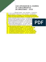 COAR_ 1° EXAMEN DE CONOCIMIENTOS-APROBADOS