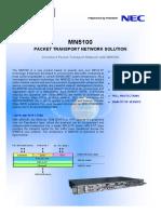 PTN NEC MN5100 Brochure Issue2.0 Mar29 2010