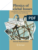 Hafmeister, Physics of Societal Issues