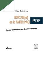 Educarse en La Participación