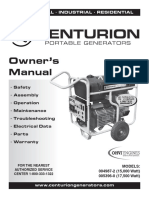 Generac Power Systems 004987 2 005396 0 Users Manual 559848