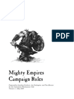 Mighty Empires Campaign Rules