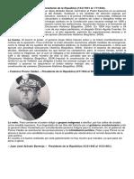Presidentes de 1944 a La Fecha