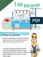 Unidad Del Paciente.